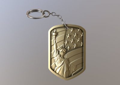 Liberty Keychain