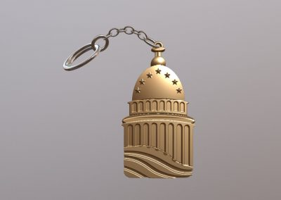 Whitehouse Key Chain