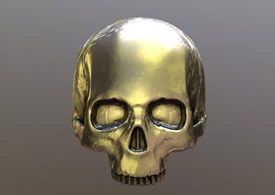 Skull Relief