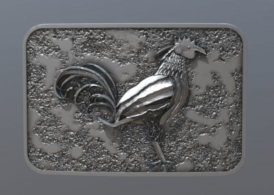 Rooster Buckle