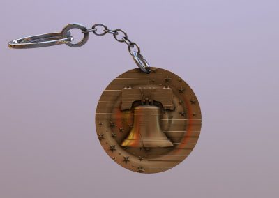 Liberty Bell Keyring
